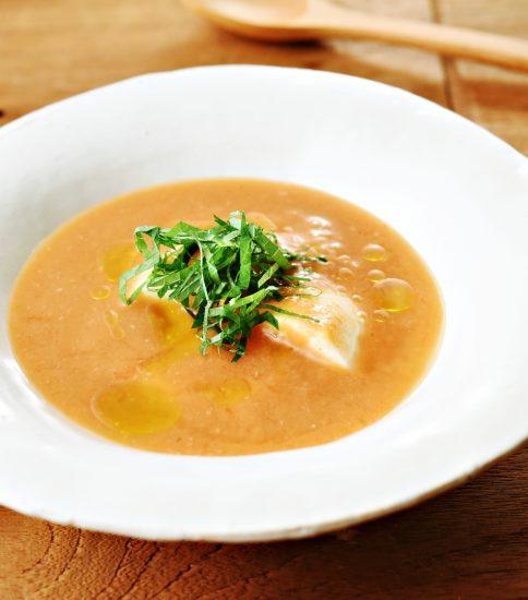 冷製のトマト豆腐・きみ待つ花火