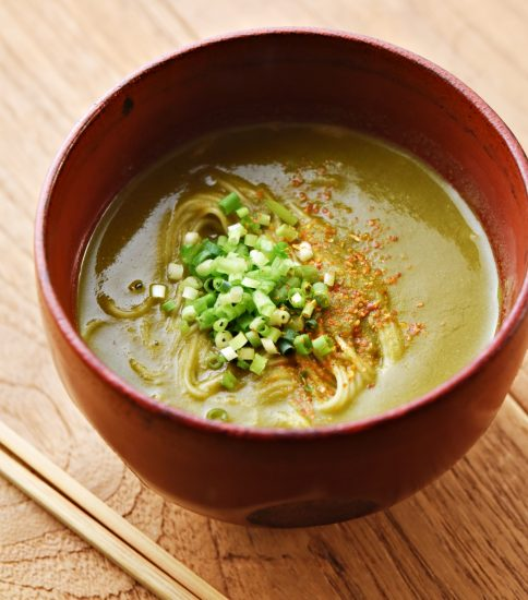 素麺使ったカレー温麺・しびれる萌黄