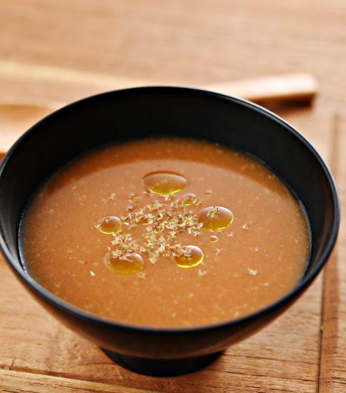 忙しい時も簡単アレンジで香り高きトマト味噌スープに・きみ待つ花火