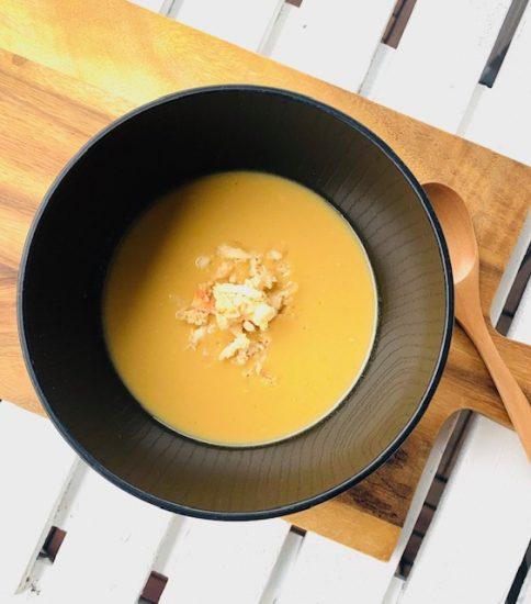 トウモロコシの天ぷら風の味わいに・なごみの黄