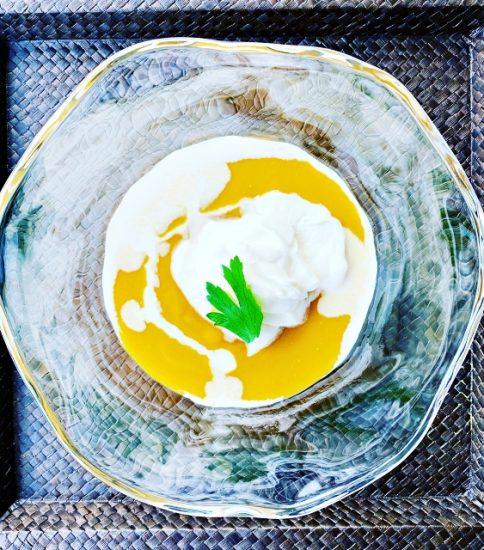 ひと手間かけたご褒美のデザートスープ・ごほうびの黄金