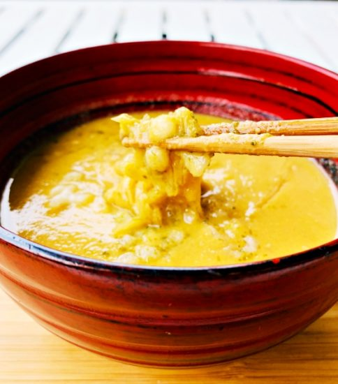 糸かんてん&青のりのヘルシー麺・なごみの黄